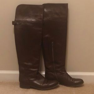 Melissa OTK Dark Brown Frye Boots